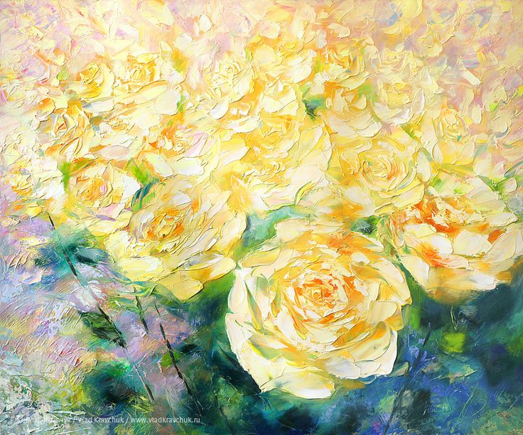Розы, 2011. Холст, масло, 100х120