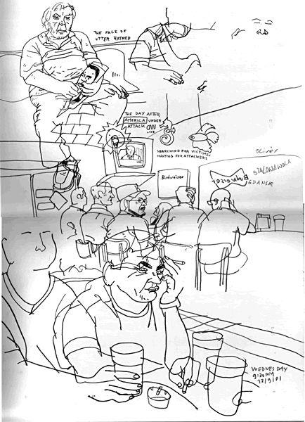 Olivier Kugler's Portfolio - New York City Sketchbook