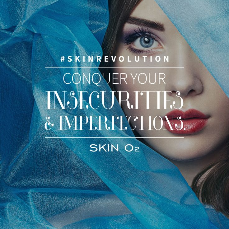 #SkinRevolution  There is nothing more empowering than conquering your insecurities and leaving them behind.