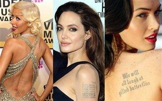 Τα σέξι τατουάζ των σταρ (Photos)
