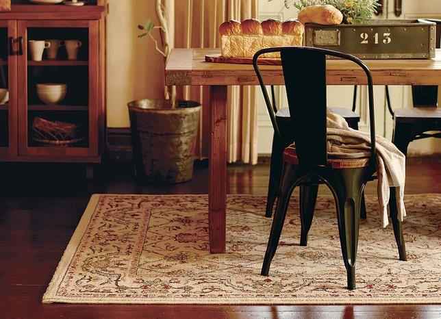 クラシック花柄ベルギー絨毯 ブラウン 100×150:アンティーク&クラシック,ベージュ・アイボリー系,Home's Style(ホームズスタイル)のラグ・マットの画像