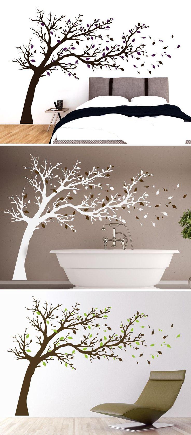 Wandtattoo Breiter Baum von Wandtattoo.com