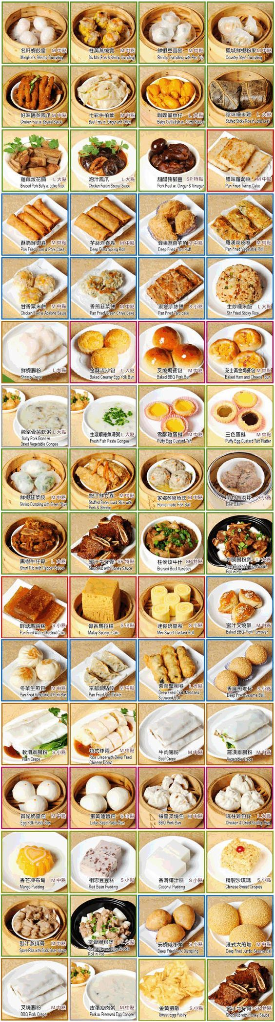 Dim Sum Chart : Official Site - MingHin Cuisine at 2168 S. Archer Ave. Chicago, IL 60616, One of the best Dim Sum Seafood Restaurants in Chicago ChinaTown