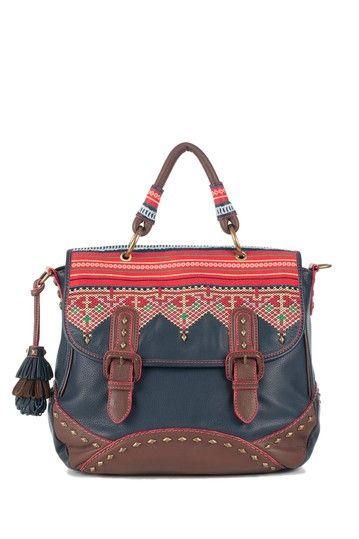Isabella Fiore Tribal Taylor Top Handle Handbag by Have-to-Have It: Handbags on @HauteLook