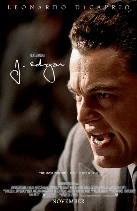 J Edgar....Based on true story about J Edgar Hoover and how the FBI came to be.  Directed by Clint Eastwood and staring Leonardo DiCaprio.  I get into law enforcement type movies, so I thought it was very good and I found out alot of things that I didn't know.  Superb acting.