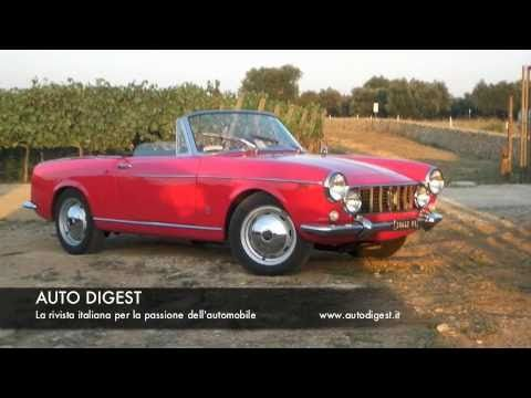 Fiat 1600 S Cabriolet 1964 : Test Drive
