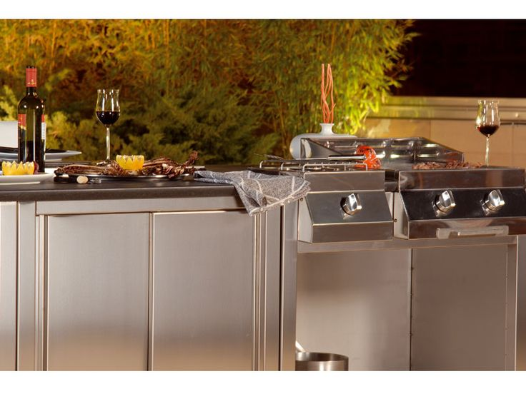 Outdoor Kitchens | Modular Outdoor Kitchens – KitChen Q from Bianchi | DigsDigs