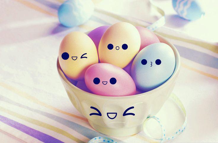 Kawaii eggs