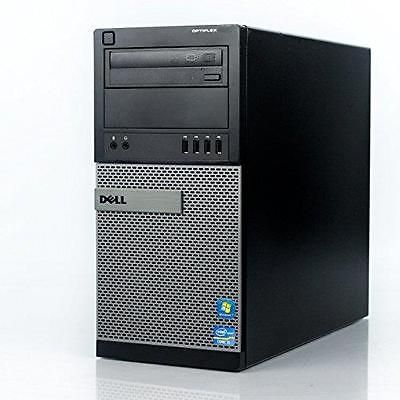 Dell Optiplex 990 Tower High Business Desktop Computer (Intel Quad-Core i5-2400