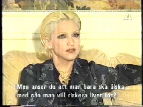 Madonna 1994 Stina Meets Madonna Interview Part 5