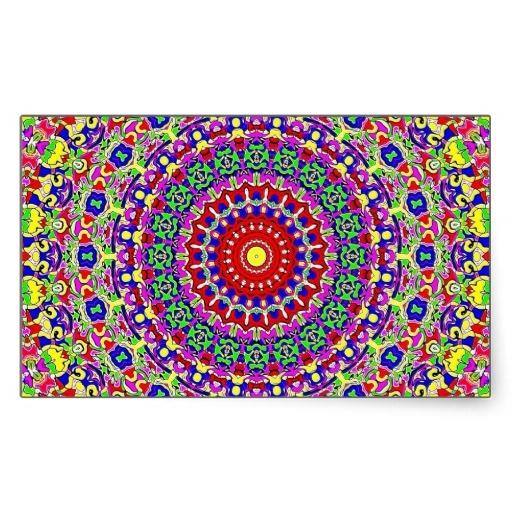 Colorful Kaleidoscope sticker