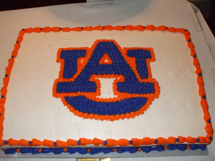 Auburn University Groom S Cake Katherine S Kitchen
