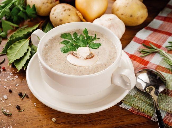 Грибной крем-суп 10вкуснейших крем-супов совсего мира