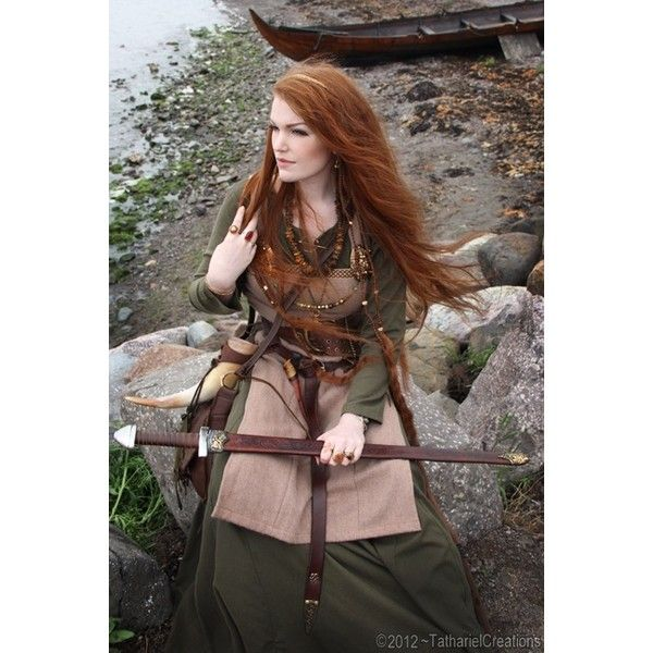 Historical Fashion Inc. Reconstructions and Costumes / Viking inspired... via Polyvore