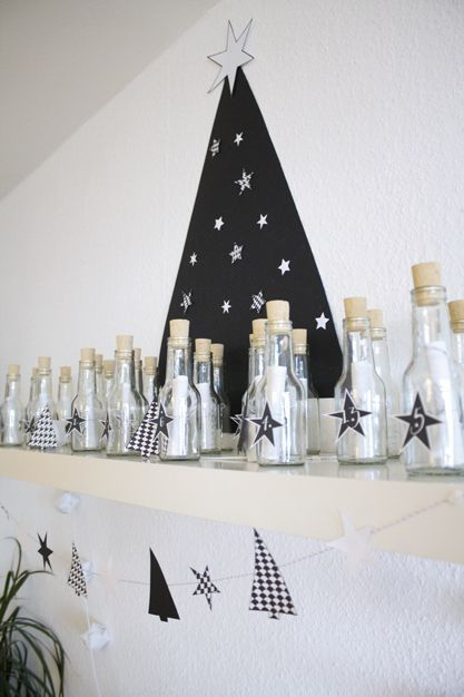 Message in a bottle - Advent Calendar.