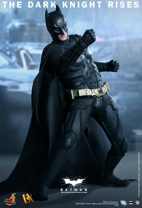 DARK KNIGHT RISES - Hot Toys BATMAN Collectible Action-Figure — GeekTyrant