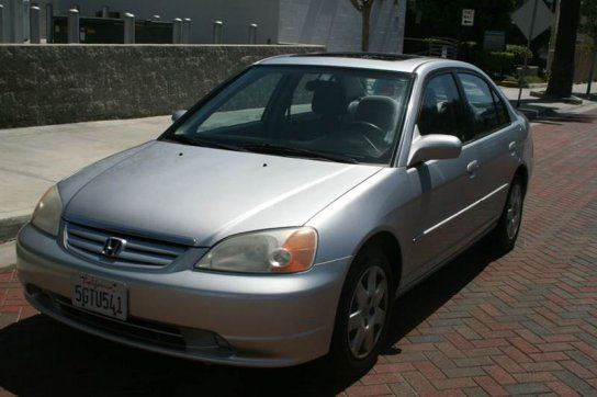 Sedan, 2001 Honda Civic EX Sedan With 4 Door In Los Angeles, CA (