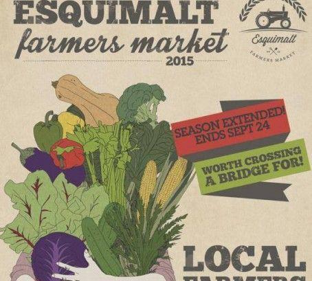 Favourite Farmers' Market: Esquimalt Farmers Market #WeHeartLocal