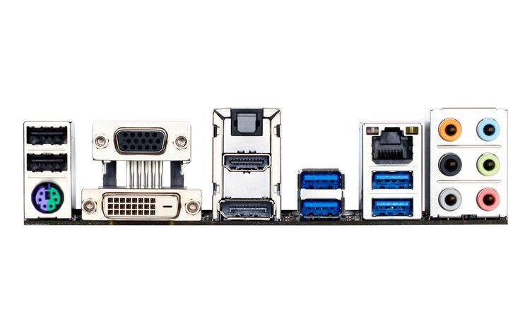 Intel H81 Micro ATX GAH81MHD3 - Gigabyte Technology - GA-H81M-HD3