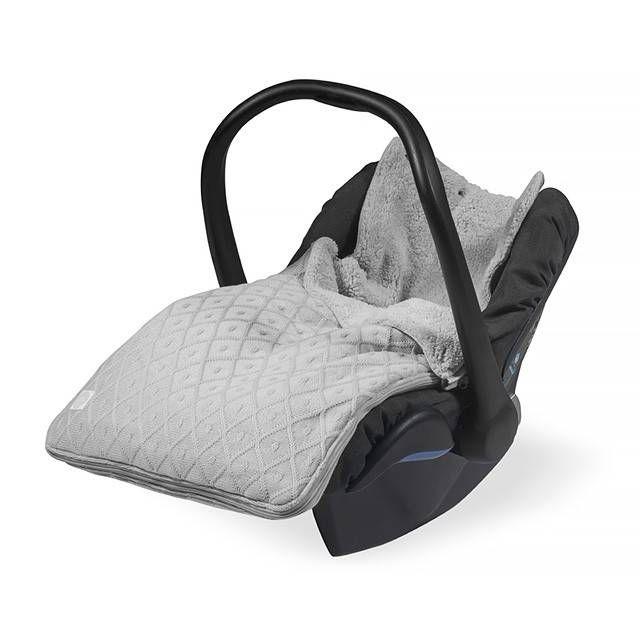 Jollein comfortbag Diamond knit Grey