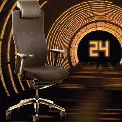 Для тех кто много рабочего времени проводит в офисе, главным образом сидя, должны обязательно иметь достойного компаньона - в виде рабочего кресла, которое может предложить высокий уровень комфорта, эргономики и дизайна. Вот оно - кресло TORO24! 24 часа или 1440 минуты или 86 400 секунд - это круглые сутки, которые готово служить кресло TORO24.  С большим набором премиум функций кресло TORO24 представляет уникальное качество, сравнимое с креслом руководителя.