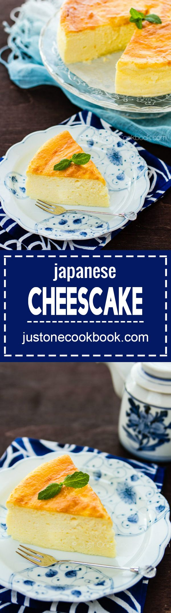 Japanese Cheesecake (チーズケーキ) | Easy Japanese Recipes at JustOneCookbook.com