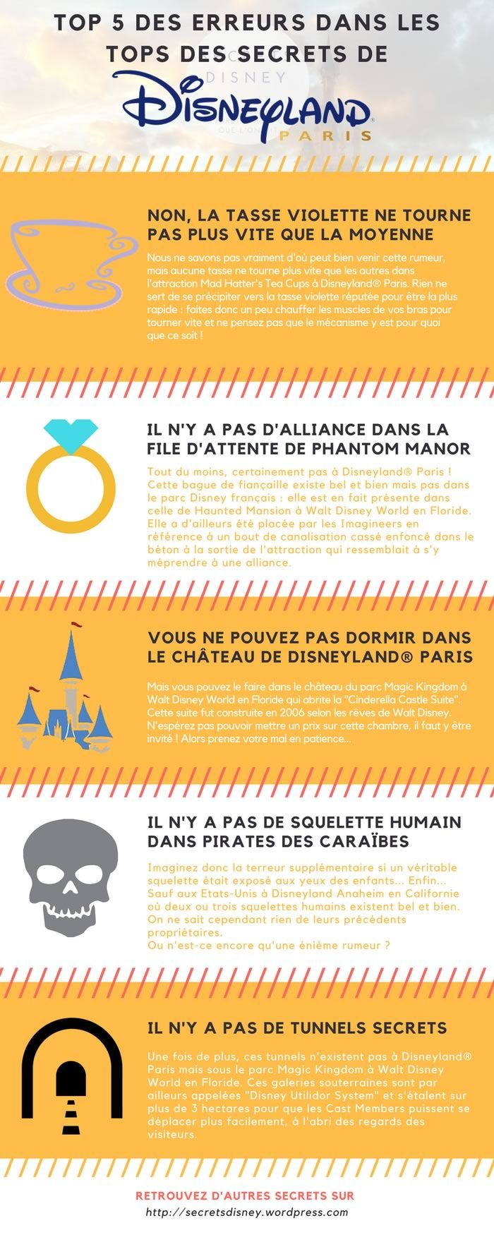 Disneyland Paris, ses secrets… et les légendes urbaines mensongères !
