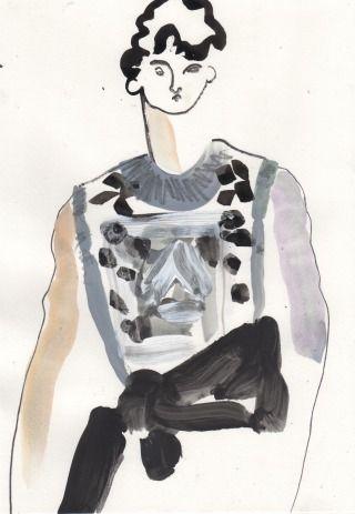 Helen Bullock: Givenchy @ Paris Menswear A/W 2013 - SHOWstudio - The Home of Fashion Film