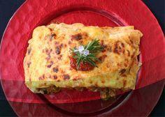 Lasagna de Arroz, Verduras y Carne