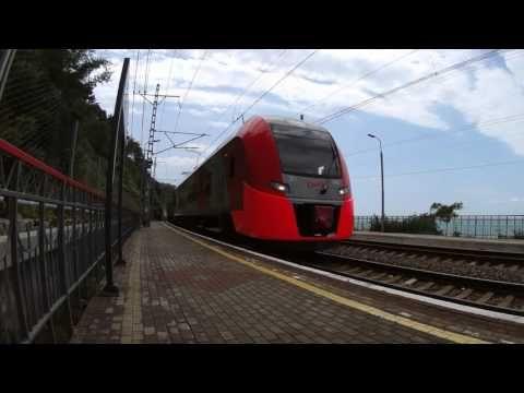 Ласточка ЭС1-040 - YouTube