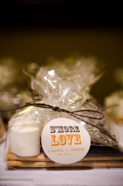 Favors: Wedding Parties, Gifts Baskets, Wedding Favors, S More, Cute Ideas, Parties Favors, Smore Favors, Favors Ideas, Fire Pit