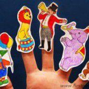 titeres dedos circo