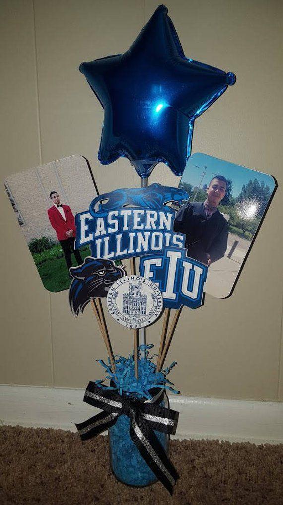 graduation centerpiece customized vase picks party party rh pinterest com
