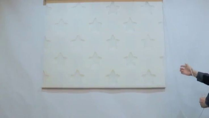 B&C Star pattern Window Blinds Shade custom made to order.