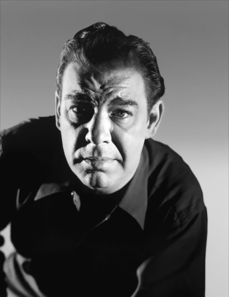 Lon Chaney, Jr. (February 10, 1906 – July 12, 1973), born Creighton Tull Chaney, son of famous silent film actor, Lon Chaney He was an American character actor.