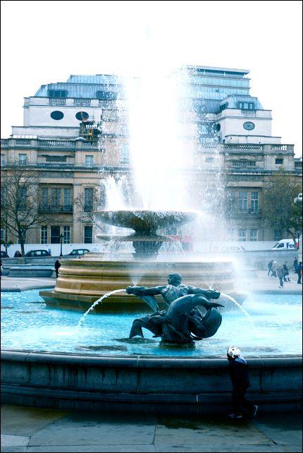 Trafalgar Square, London. Photo taken by Sophie Abbott-Strugnell