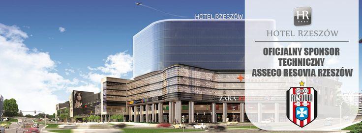 Hotel Rzeszów - technical sponsor of ASSECO RESOVIA RZESZÓW