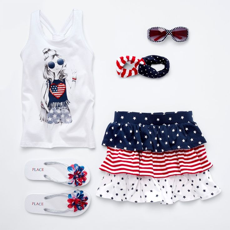 Freedom and fashion for all. (peace sign emoji) #MemorialDayWeekend #Americana