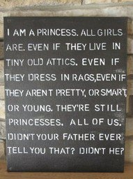 Little Princess, watched this as a little girl and still quote it to this day. LOVE IT!!!