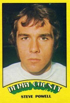 1974-75 A&BC Gum #5 Steve Powell Front