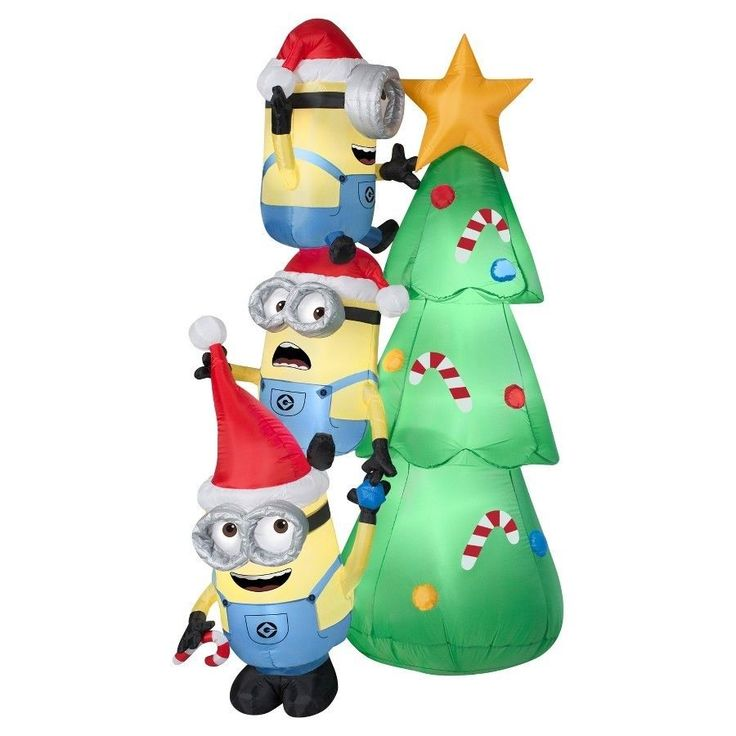 #Outdoor #Inflatable #Holiday #Decoration #Despicable Me 6ft #Inflatable #Minions #New