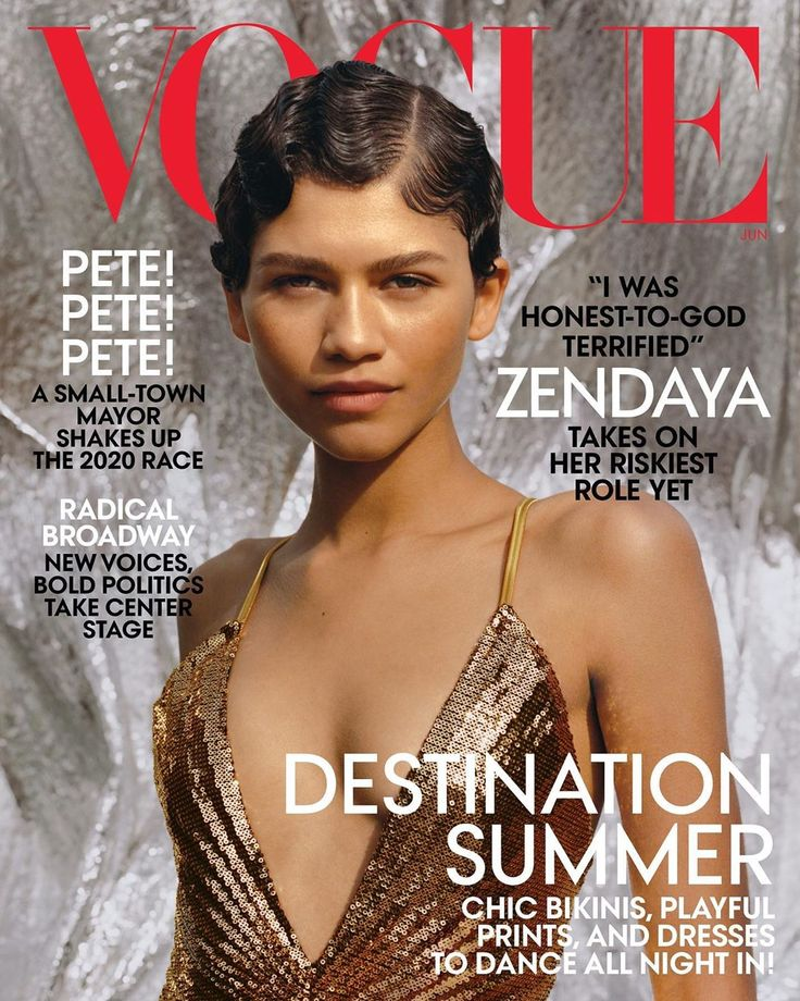 Zendaya On Disney in the Past as she Covers the New Vogue US Issue!  #jaiyeorie …