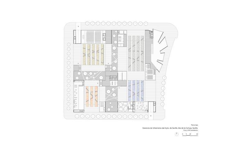 Gerencia-Urbanismo-Sevilla_Diseño-plano_Cruz-y-Ortiz-Arquitectos_CYO_10-planta-baja