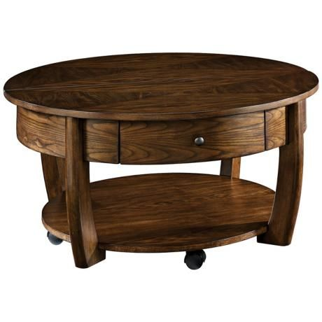 Hammary Concierge Round Lift Top Cocktail Table Cocktails Products And Cocktail Tables