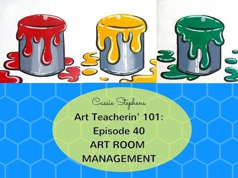 Cassie Stephens: In the Art Room: Art Room Management