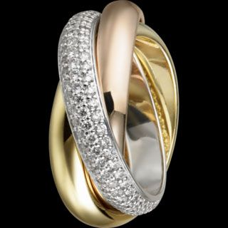 classicCartier Trinity, Dreams, Diamonds, Gold Rings, Jewelry, Infinity Rings, Jewels, Wedding Rings, Trinity Rings