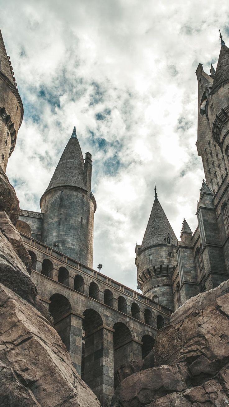 Hogwarts Castle Harry Potter Wallpaper Harry Potter Background Hogwarts