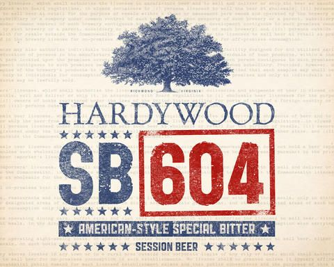 Brewed to commemorate the signing of Virginia Senate Bill 604 into law following the 2012 legislative session, SB 604 beers will be offered by the brewers (including Devil's Backbone, Starr Hill, and Hardywood Park) who lobbied to make the bill a reality. Effective July 1, 2012, Senate Bill 604 gives commercial breweries in Virginia the right to sell glasses of beer on-site.