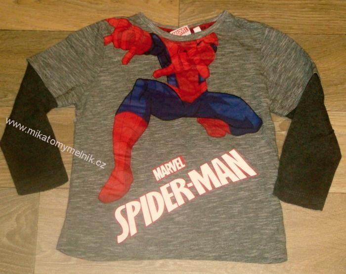 SPIDERMAN bavl.triko vel.2-3roky