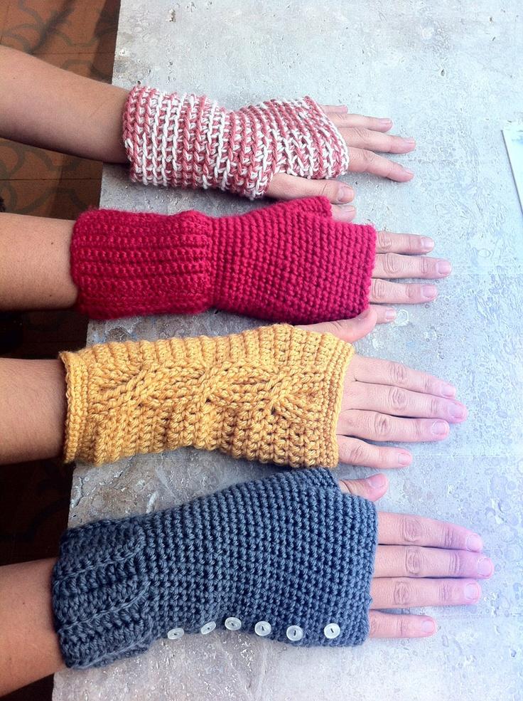 Para las que necesitan agilidad en las manos y pasan frío.